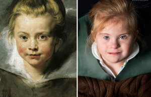 Children With Down Syndrome Recreate Famous Paintings 16