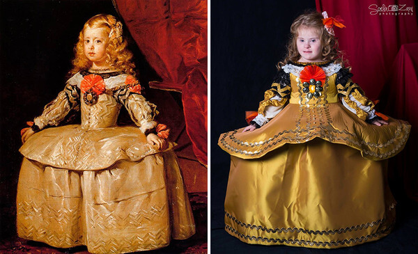 Children With Down Syndrome Recreate Famous Paintings 7