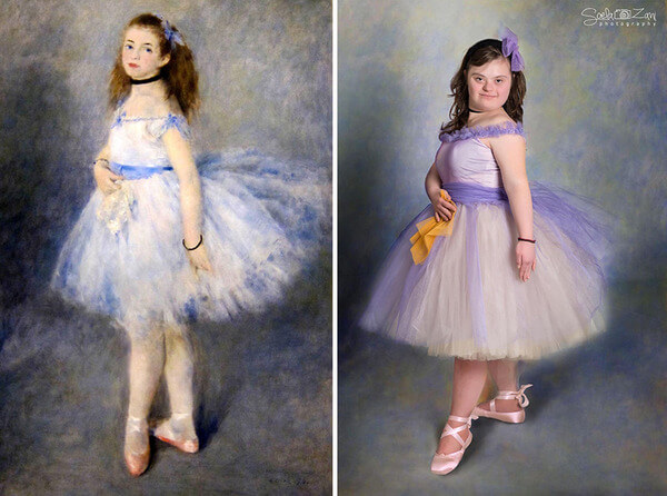 Children With Down Syndrome Recreate Famous Paintings 1