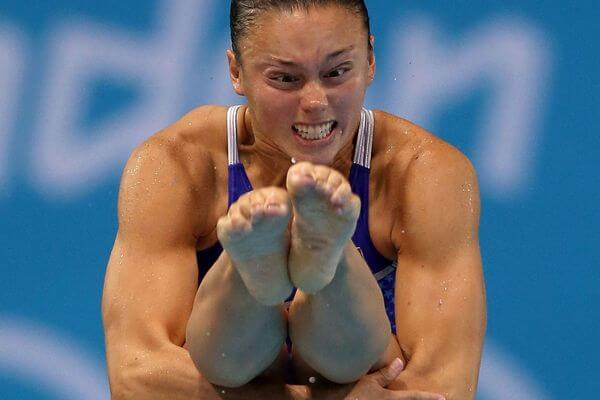 funny athlete face 22