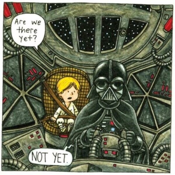 Darth Vader As a Normal Parent 3