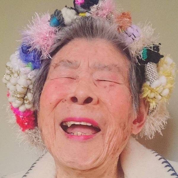 Grandma Modeling clothes 15