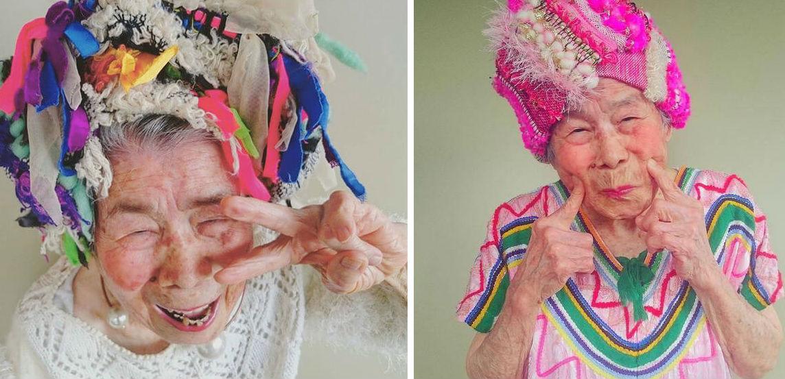 93 year old grandma