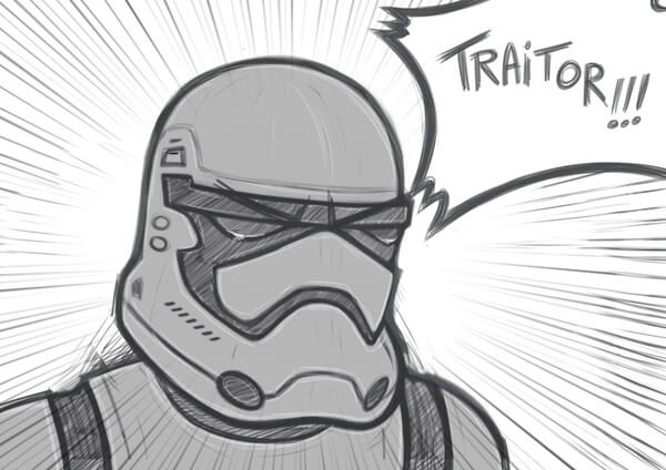 Real Backstory of Stormtrooper TR-8R 5