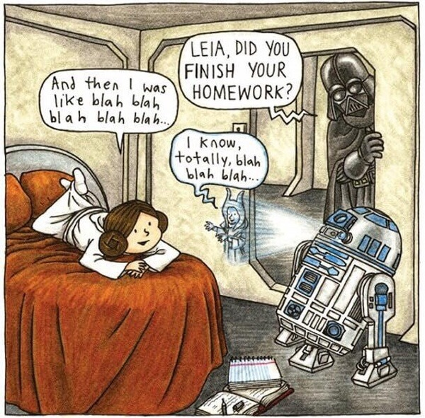 Darth Vader As a Normal Parent 1
