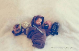 star wars baby photo shoot 1