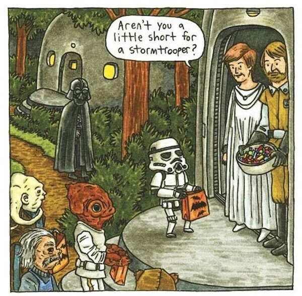 Darth Vader As a Normal Parent 2