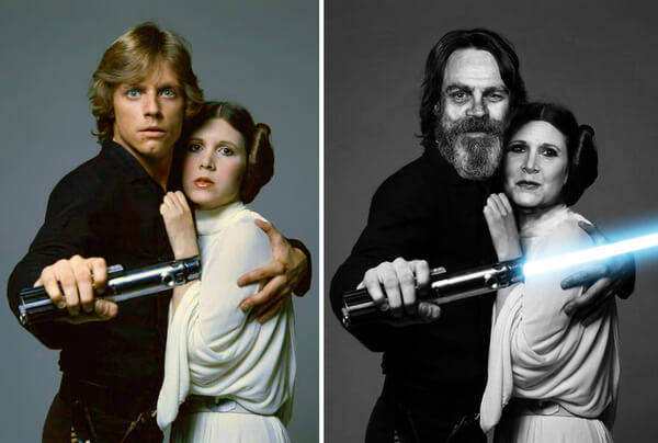 Star Wars Actors Then And Now 3