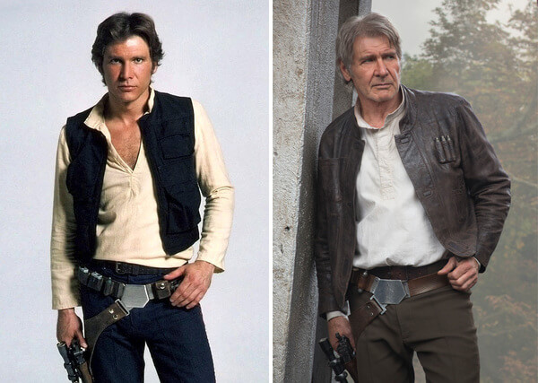 Star Wars Actors Then And Now 1