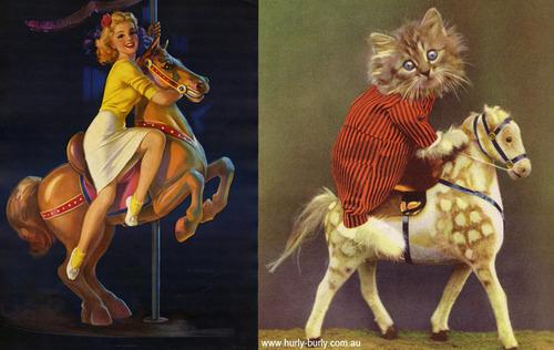 cat pinup girls 4