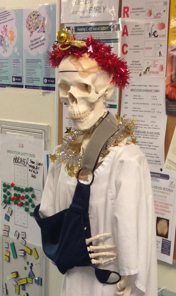 christmas hospital decorations 8