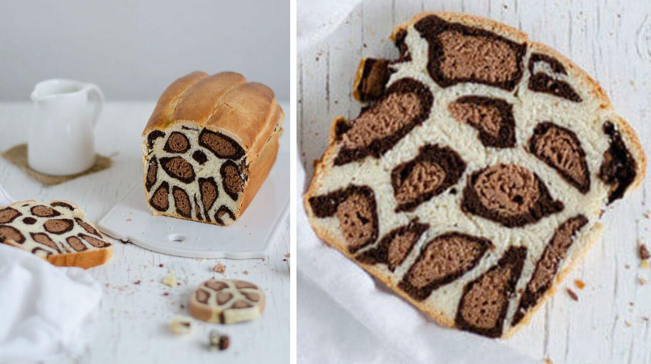 leoprad cake feat