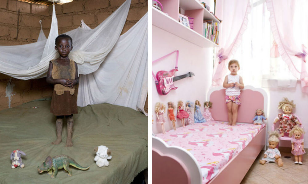 Children Of The World Photograph With Their Most Prized Possessions