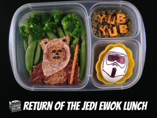 Star Wars School Lunches ideas 5