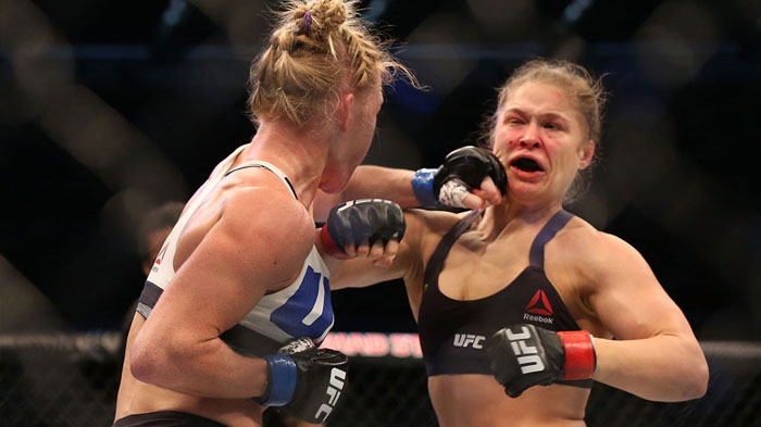 ronda rousey holly holm rematch 2
