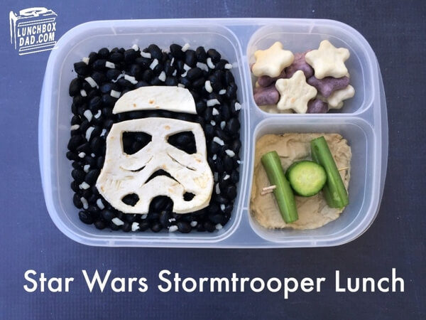 Star Wars School Lunches ideas 3