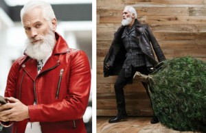 stylish santa feat