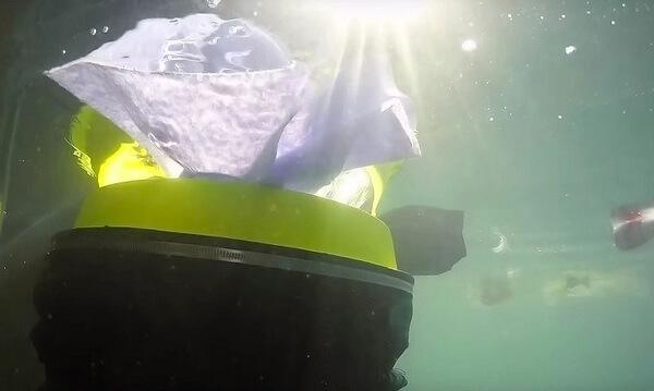 floating rubbish bin 3