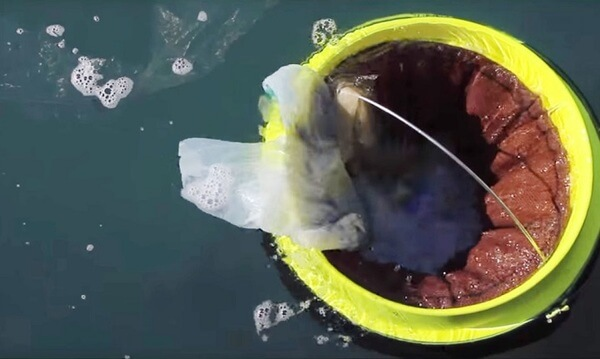 floating rubbish bin 4