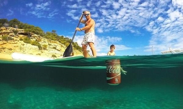 floating rubbish bin 1