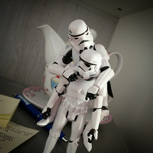 Real Backstory of Stormtrooper TR-8R 1