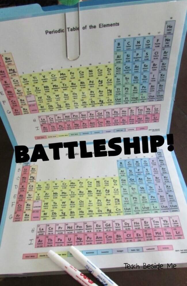 Periodic Table Battleship 2