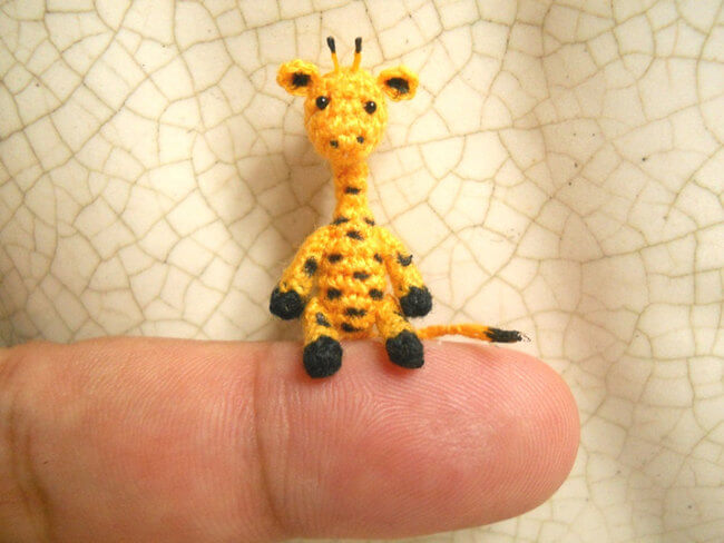 Miniature Crochet Animal 6