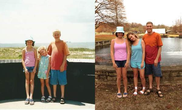 family photo recreated 3
