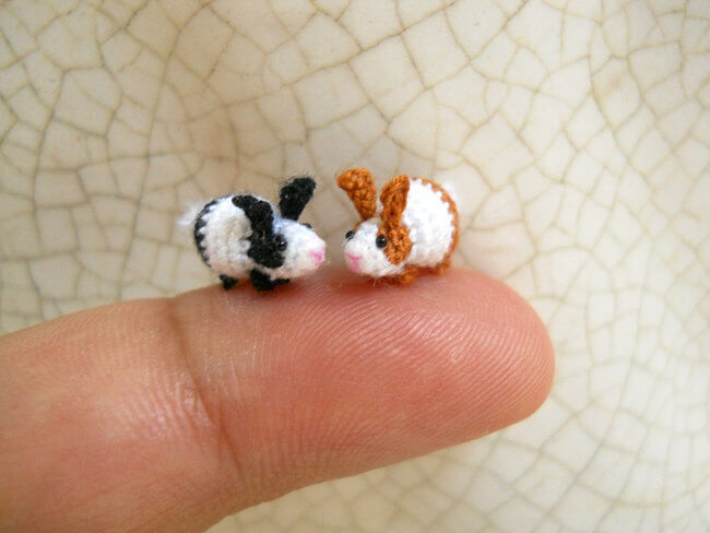 Miniature Crochet Animals 1
