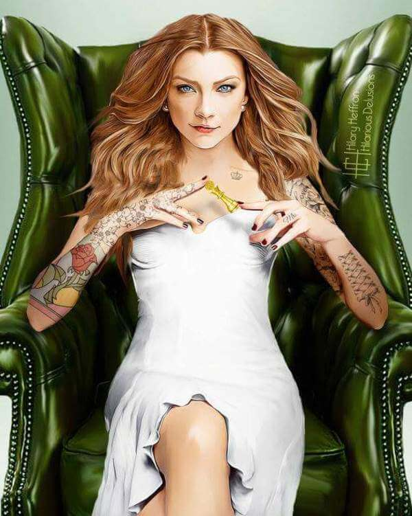 If Game of Thrones Stars Had Character-Fitting Tattoos 5