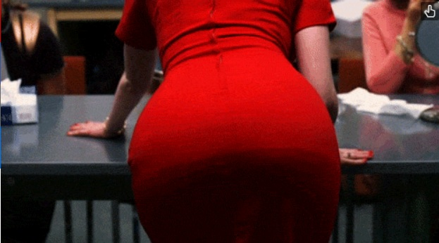 Big red big booty