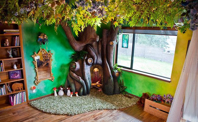 Fairytale Treehouse 1