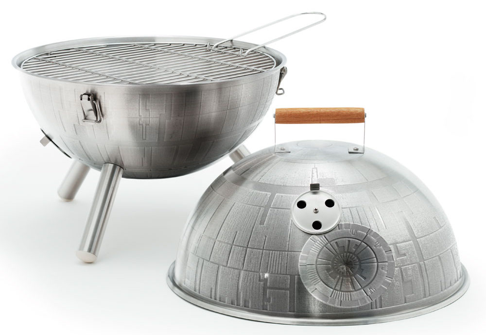 This Death Star Grill Will Turn You Into A Grill Jedi