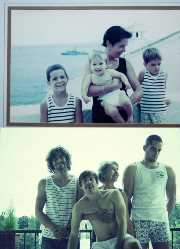 family photo recreated 2