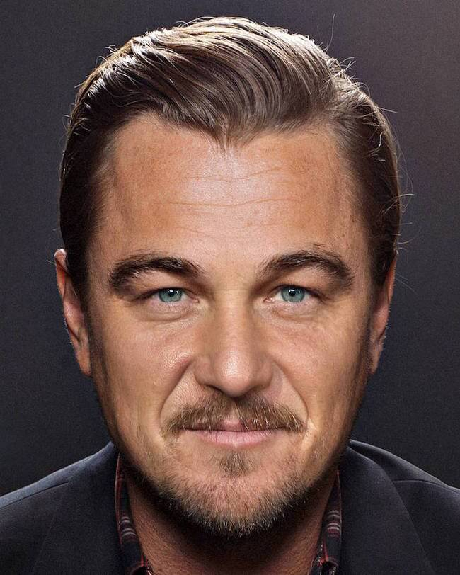 Tell Which Celebrities Are In Each Celebrity Facemashup