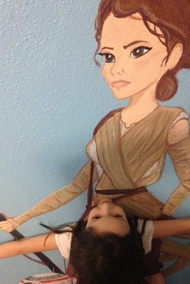 Star Wars Mural 5