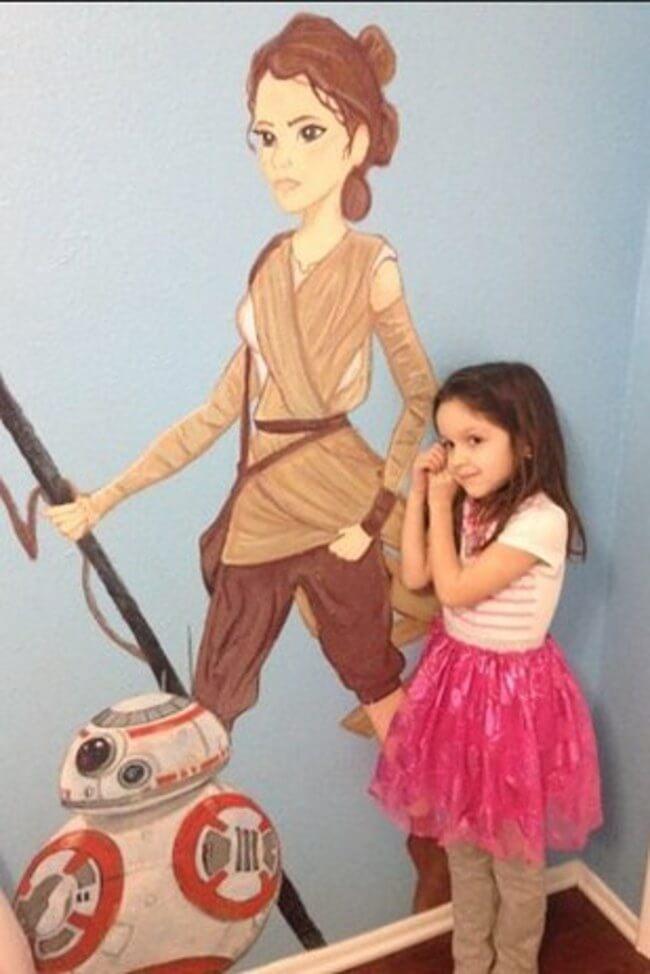 Star Wars Mural 8