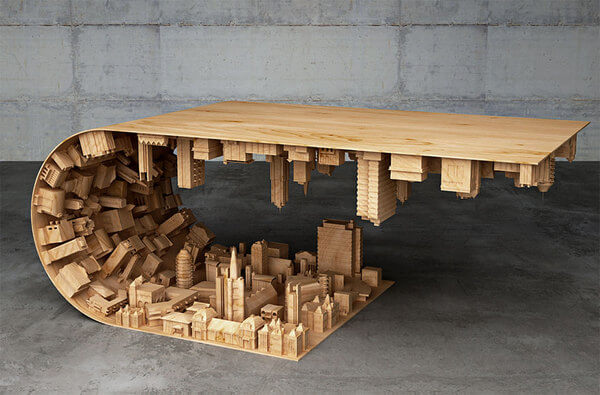 Bent City Coffee Table 2