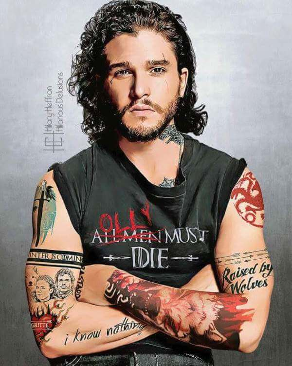 If Game of Thrones Stars Had Character-Fitting Tattoos 1