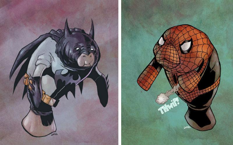 manatees superhero feat
