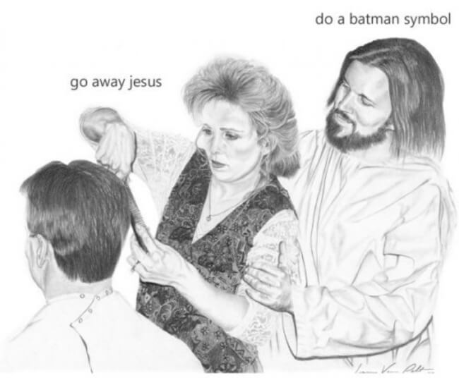 Things Jesus Would Do If He Was a Total Douchebag 12