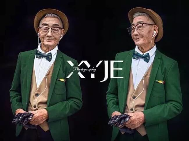 stylish grandfather 3
