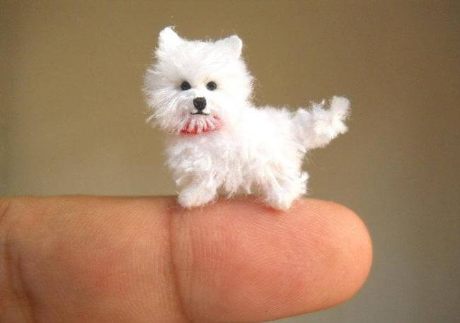 Miniature Crochet Animals 5