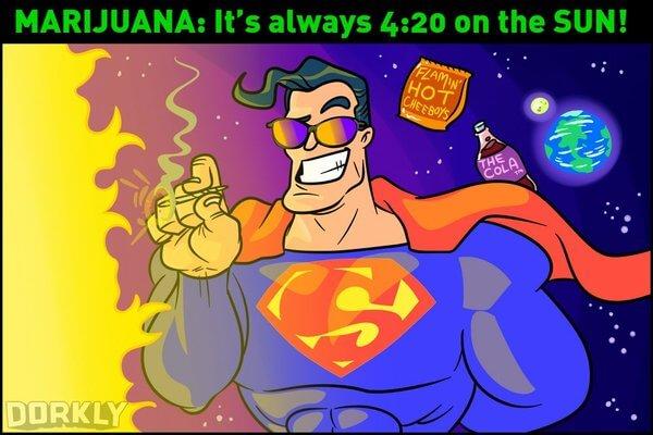 If Superheros Used Drugs It Will Look Something Like This