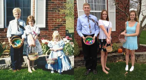 family photo recreated 10