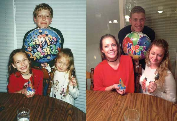 family photo recreated 12