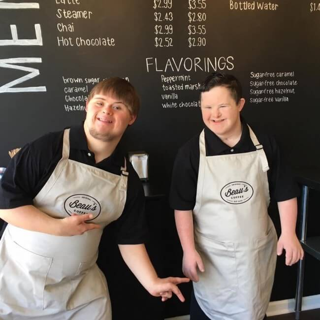 Coffee Shop Run by Staffers With Disabilities 3
