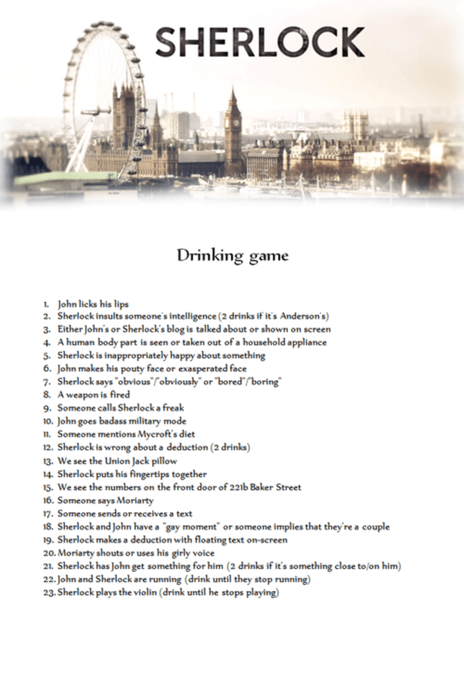 Great drinking games 3