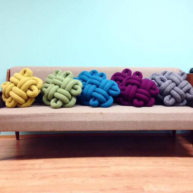 knot cushions 9