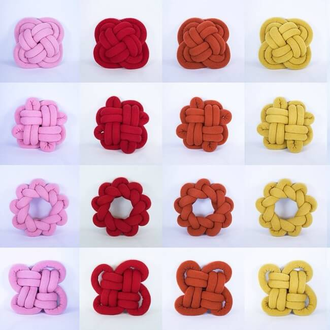 knot cushions 7